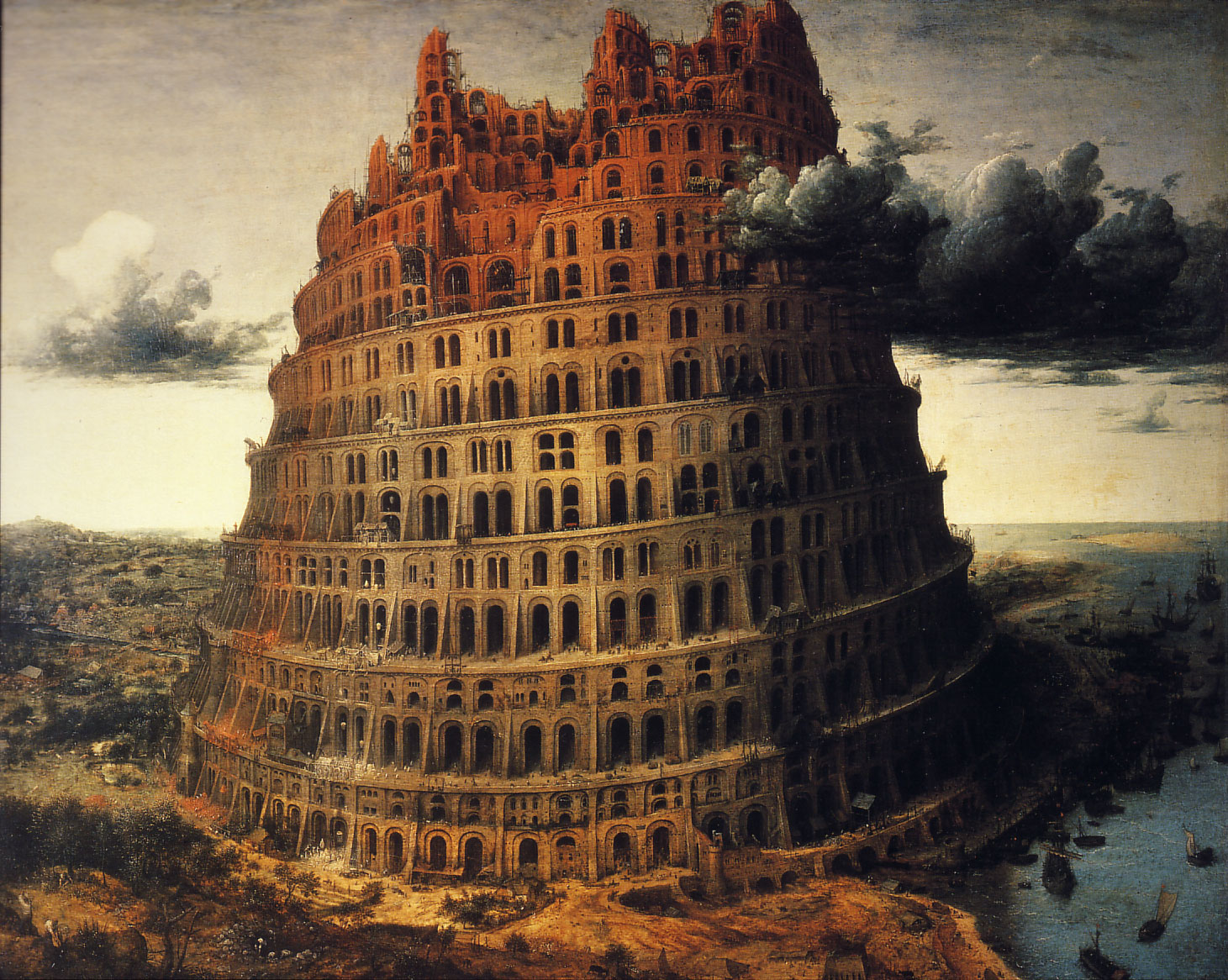 The Tower of Babel by Pieter Breugel