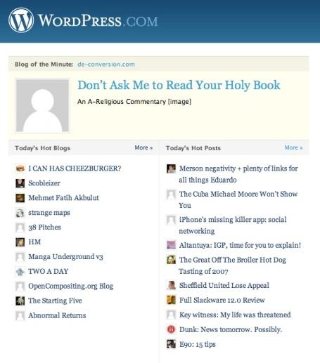 Wordpress Top Post